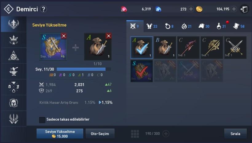 Lineage-2-Revolution-Mobil-MMORPG-Ekipman-Seviye-Yukseltme-1